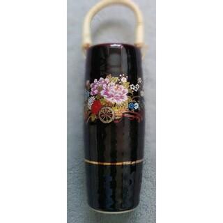 九谷焼花瓶(陶芸)