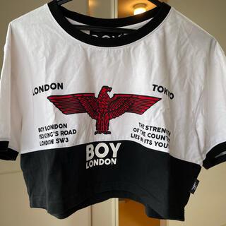 ボーイロンドン(Boy London)の出産直前のため最終大幅値下げ!激レア!ボーイロンドン⭐︎ショート丈Tシャツ(Tシャツ(半袖/袖なし))