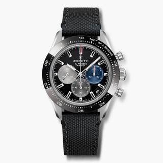 ゼニス(ZENITH)のZENITH ゼニス クロノマスター ブラック ディトナー(腕時計(アナログ))