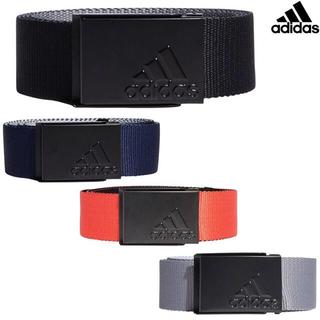 adidas - アディダスゴルフ リバーシブルウェビングベルト ネイビー
