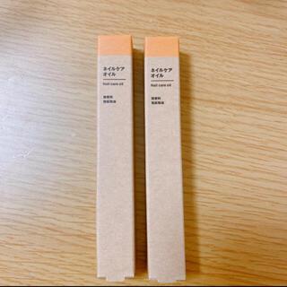 ムジルシリョウヒン(MUJI (無印良品))の無印良品 ネイルケアオイル 2本セット(ネイルケア)