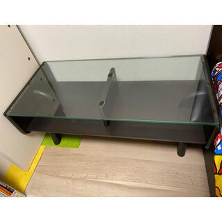 大塚家具 センターテーブル 木製 黒 飛騨(ローテーブル)
