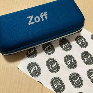 Zoff - Zoffメガネケース メガネ拭き