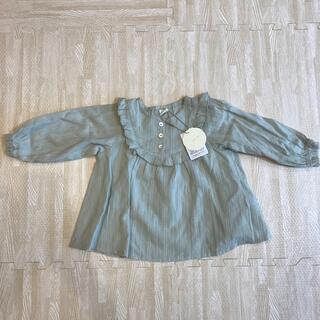 フタフタ(futafuta)の新品未使用タグ付き♡ テータテート チュニック 90サイズ(Tシャツ/カットソー)