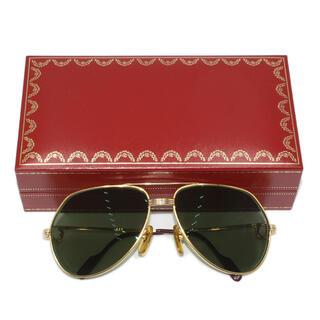 カルティエ(Cartier)のカルティエ トリニティ ティアドロップ メガネ サングラス 度入り(サングラス/メガネ)