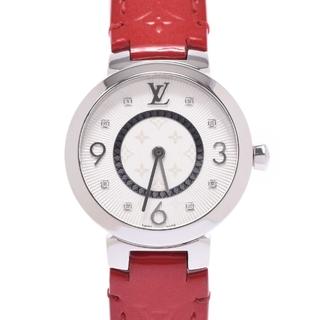 ルイヴィトン(LOUIS VUITTON)のルイヴィトン  タンブール スリム 8Pダイヤ 腕時計(腕時計)