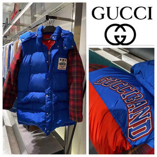 Gucci - GUCCI SALE 最後の一点 ロゴ付き オーバーサイズダウンジャケット