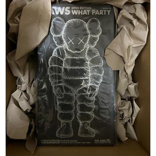 """メディコムトイ(MEDICOM TOY)のKAWS × Medicom Toy #9 What Party """"Black""""(その他)"""