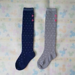 ニットプランナー(KP)の新品【15~17cm】KPDECO ニーハイ ソックス×2(靴下/タイツ)