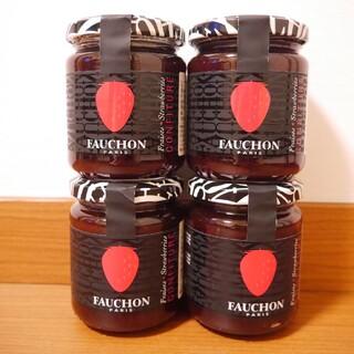 タカシマヤ(髙島屋)の4個セット!フォション いちごジャム 苺 FAUCHON 髙島屋(缶詰/瓶詰)