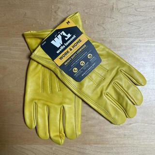 コストコ(コストコ)の【新品・送料込み】ウェルズラモント 作業用革手袋 Mサイズ 牛革100%(手袋)
