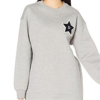 ダブルスタンダードクロージング(DOUBLE STANDARD CLOTHING)の新品 タグ付き ダブルスタンダードクロージング 星サガラワッペン チュニック(トレーナー/スウェット)
