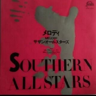 【送料無料】シングルレコード♪サザンオールスターズ♪メロディ♪(ポップス/ロック(邦楽))