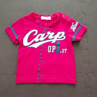 広島東洋カープ - 広島東洋カープ  半袖Tシャツ 子供用 キッズTシャツ ベビー 90c