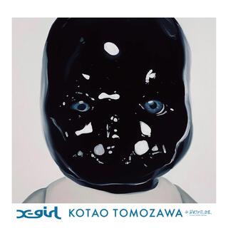 エックスガール(X-girl)の新品未開封 X-girl × KOTAO POSTER BLUE(印刷物)