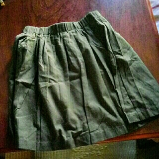 アクアガール(aquagirl)のバルンミデアム丈のロングスカート(ひざ丈スカート)