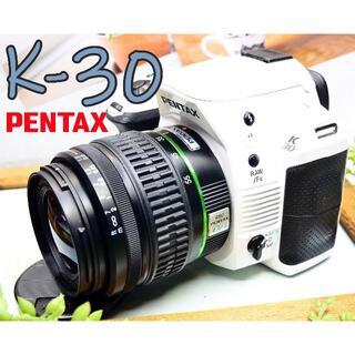 PENTAX - ✨希少な純白一眼レフ✨防塵・防滴+手振れ補正✨PENTAX K-30