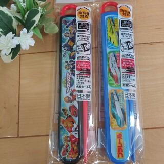 タカラトミー(Takara Tomy)の☆セール☆ ♡スライド式ハシセット♡(弁当用品)