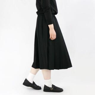 ミナペルホネン(mina perhonen)のCharpentier de Vaisseau   Belle  Black (ロングスカート)