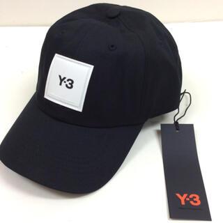Y-3 - Y-3 cotton cap ユニセックス ボックスロゴ キャップ