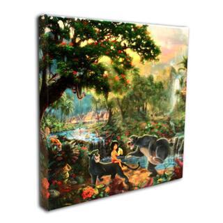 ディズニー(Disney)のディズニー公認作家「ジャングル・ブック」作品証明書・展示用フック付(絵画/タペストリー)