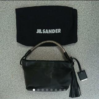 ジルサンダー(Jil Sander)のジル・サンダー ソフトレザー ハンドバッグ(ハンドバッグ)