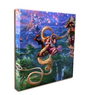 ディズニー(Disney)のディズニー絵画 塔の上のラプンツェル アップ イン ラブ 作品証明書付き(絵画/タペストリー)
