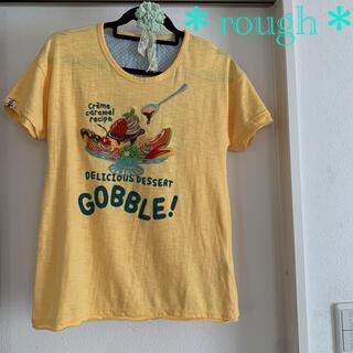 ラフ(rough)の【rough】パフェ アップリケ ロングTシャツ(Tシャツ(半袖/袖なし))