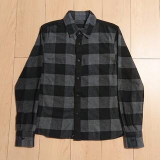 ナンバーナイン(NUMBER (N)INE)のS 良品 NUMBER NINE  ラブレス ギルドプライム チェックシャツ(シャツ)
