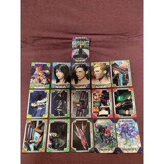 スクウェアエニックス(SQUARE ENIX)のFF8 カードダス 当時品 計16枚セット(その他)