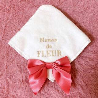 Maison de FLEUR - メゾンドフルール ビッグリボンタオルハンカチ