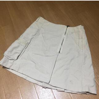 ザスコッチハウス(THE SCOTCH HOUSE)のTHE SCOTCH HOUSEのホワイトスカート(ひざ丈スカート)