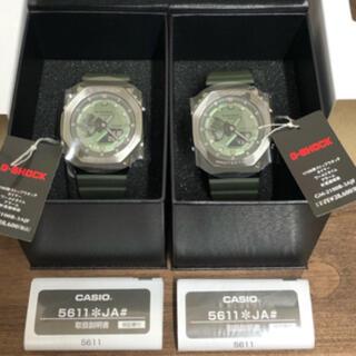 【2本セット】【新品未使用】 GM-2100B-3AJF G-SHOCK タグ付(腕時計(アナログ))