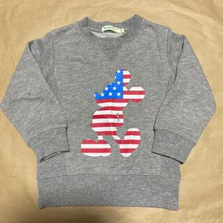 コドモビームス(こどもビームス)のトレーナー 男の子 ミッキー ビームス 90サイズ(Tシャツ/カットソー)