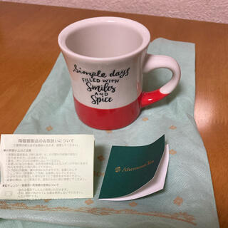 アフタヌーンティー(AfternoonTea)の新品 アフタヌーンティーのマグカップ(グラス/カップ)