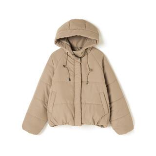 グレイル(GRL)のGRL 中綿入りエコダウンジャケット ベージュ 人気 韓国ファッション 秋 冬(ダウンジャケット)