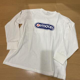 アウトドア(OUTDOOR)の未使用 160 ビールーム アウトドア 白 ロンT 長袖☆ 男の子(Tシャツ/カットソー)