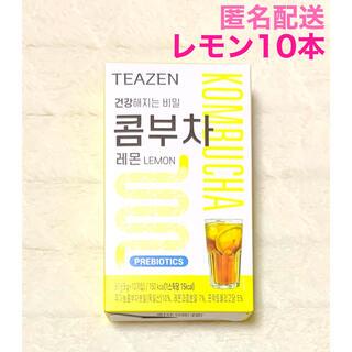 最安値 TEAZEN ティーゼン コンブチャ レモン 10本 ジョングク BTS(ダイエット食品)