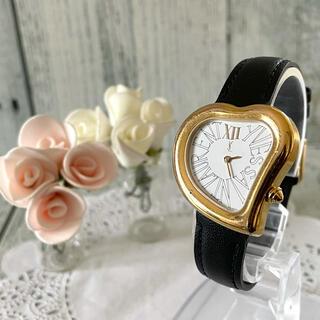 サンローラン(Saint Laurent)の【希少】Yves Saint Laurent サンローラン 腕時計 ハートベゼル(腕時計)