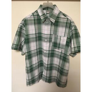 カルトップ(CALTOP)のcaltop グリーン 半袖 1X(シャツ)