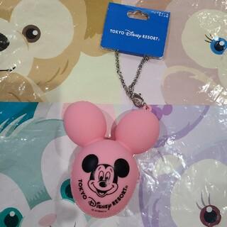 ディズニー(Disney)のディズニー バルーン バッグチャーム ピンク コインケース(コインケース)