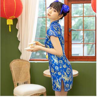 ボディライン(BODYLINE)のチャイナドレス ミニ チャイナ服(衣装)