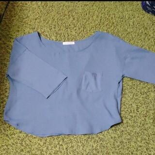 ローリーズファーム(LOWRYS FARM)のローリーズファーム 5分袖 カットソー(カットソー(半袖/袖なし))