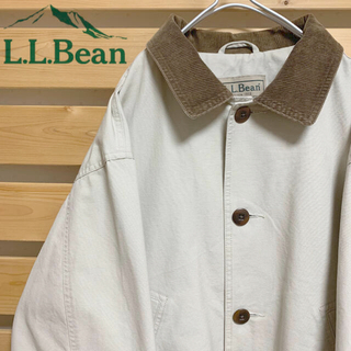 エルエルビーン(L.L.Bean)のエルエルビーン ハンティングジャケット コーデュロイ襟 ビッグシルエット 90s(カバーオール)