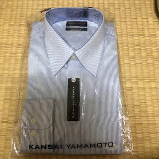 カンサイヤマモト(Kansai Yamamoto)の新品タグ付き★シンプルなワイシャツ40-84 KANSAI YAMAMOTO★(シャツ)