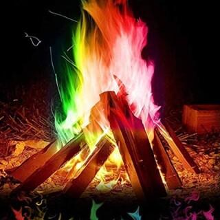 マジックファイヤ 5袋 ミスティカル FIRE 神秘的 虹色(その他)