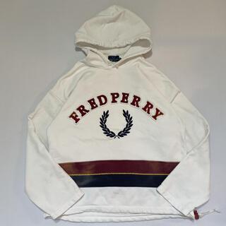 フレッドペリー(FRED PERRY)の90s 古着 Fred perry フレッドペリー ロゴ パーカー(パーカー)