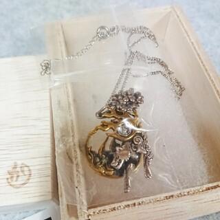 カプコン(CAPCOM)のかすう工房×大神 アマテラス銀製首飾り(アニメ/ゲーム)