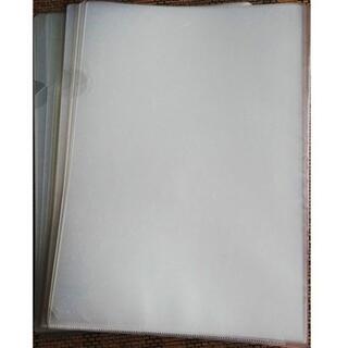 コクヨ(コクヨ)の中古 30枚★ A4 クリアホルダー クリアファイル 透明(ファイル/バインダー)