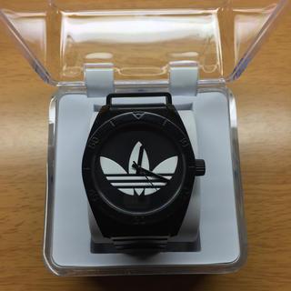 アディダス(adidas)のアディダス黒時計(腕時計(アナログ))
